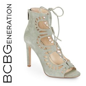 BCBGeneration Carnival Lace Up Booties